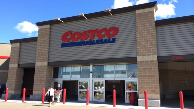 Costco in Bellevue, in the greater Green Bay area, opened in Oct. 2013.