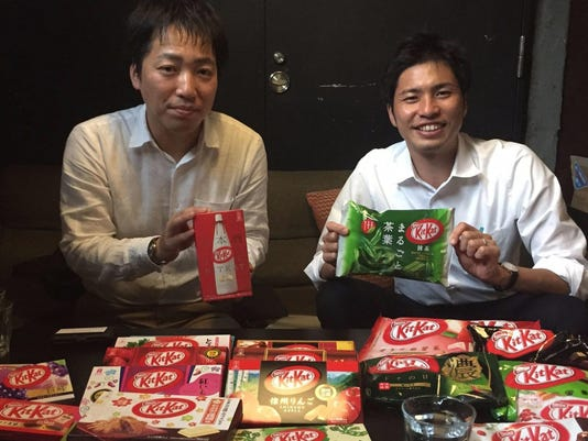 In Japan, KitKat finds its sweet spot in unique flavors