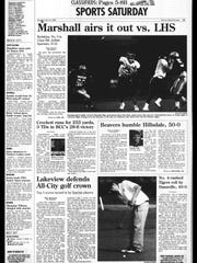 Battle Creek Sports History: Week of Sept. 22, 1996