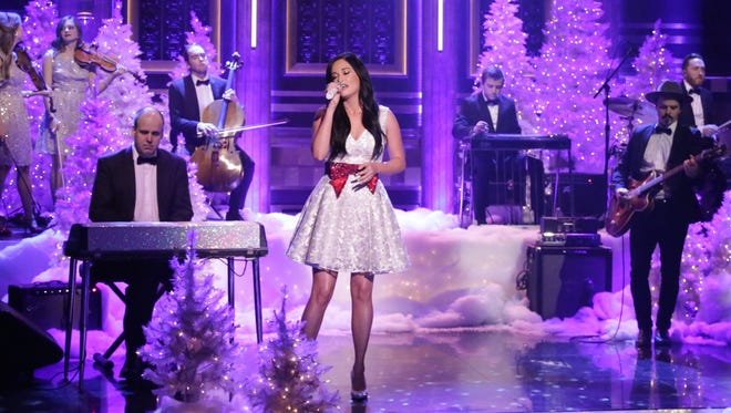 Musical guest Kacey Musgraves performs on 'The Tonight Show Starring Jimmy Fallon'