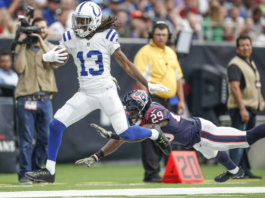Beyond T.Y. Hilton, the Colts are painfully thin at the wide receiver position.