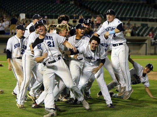Immaculata celebrates its win in the Somerset County