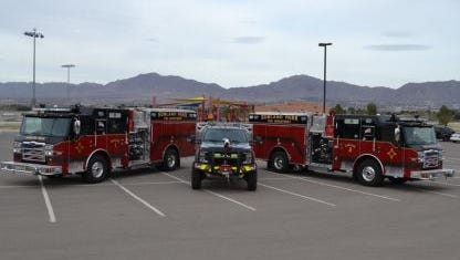 The Sunland Park Fire Department will unveil its new equipment Wednesday, March 8, 2017.