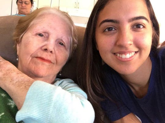 """Maria Piloto, 80, likes to """"dance"""" in the car to Cuban"""
