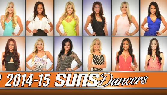 Eighteen women were selected to join the Suns Dancers for 2014-15.