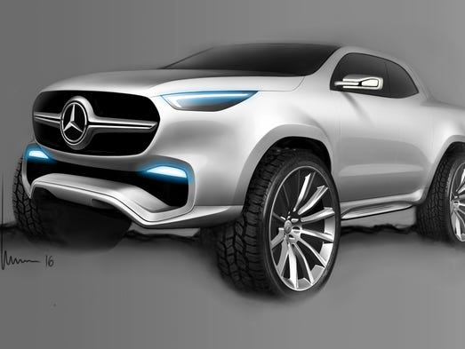 Mercedes Benz Reveals Luxury Pickup Truck