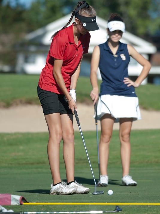 District 1-2A Golf-Girls