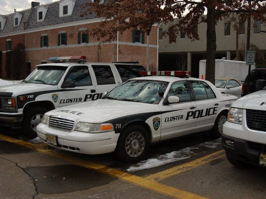 Closter police car