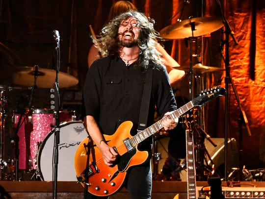 In this file photo, Dave Grohl, of Foo Fighters, performs