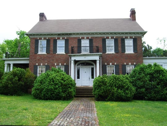 The Smotherman House in Tullahoma has been added to