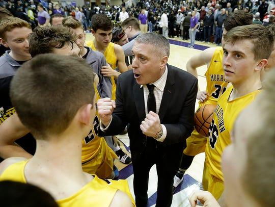 Morristown Yellow Jackets head coach Scott McClelland