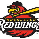 The new primary logo for the Rochester Red Wings.