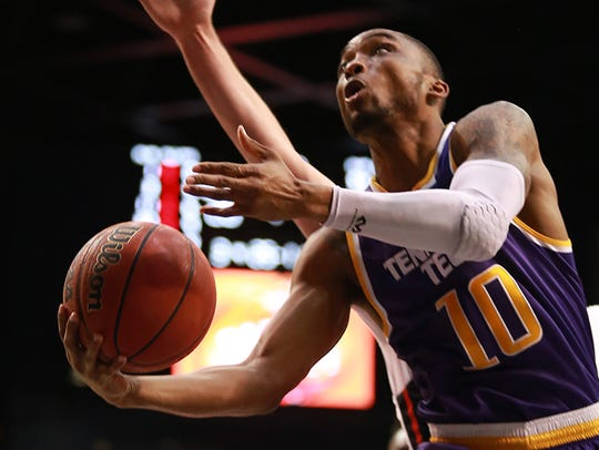 Kajon Mack led Tennessee Tech with 16 points in Thursday