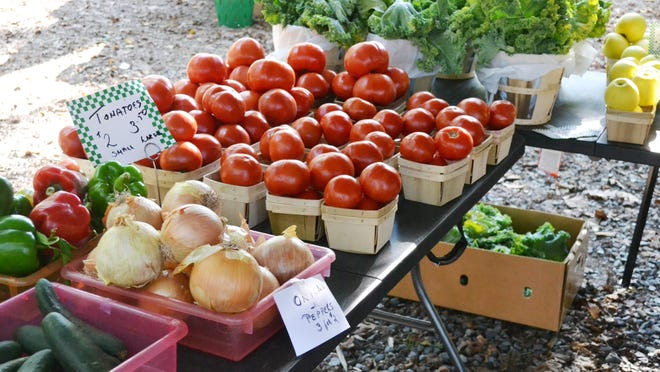 The Ocean Pines Farmers Market is open all year.