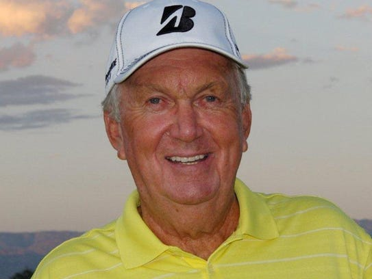 Al Geiberger, 79, became the first golfer to record