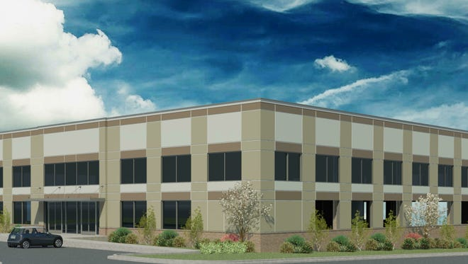 Rendering of the office space coming to Mauldin's Main Street.