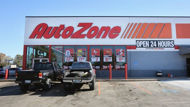 AutoZone is Memphis-based auto parts retailer.
