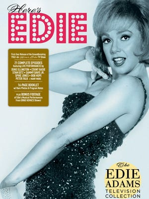 The 'Edie Adams Television Collection' went on sale today.