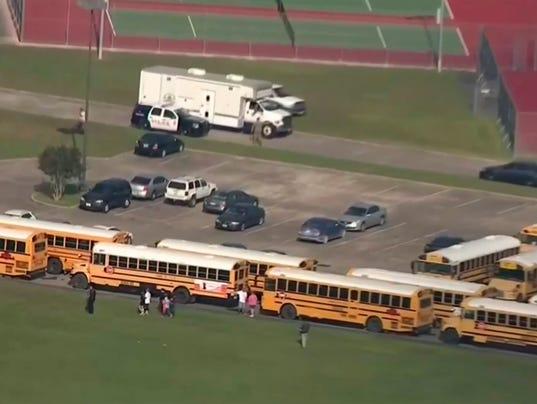 AP SCHOOL SHOOTING-TEXAS A USA TX