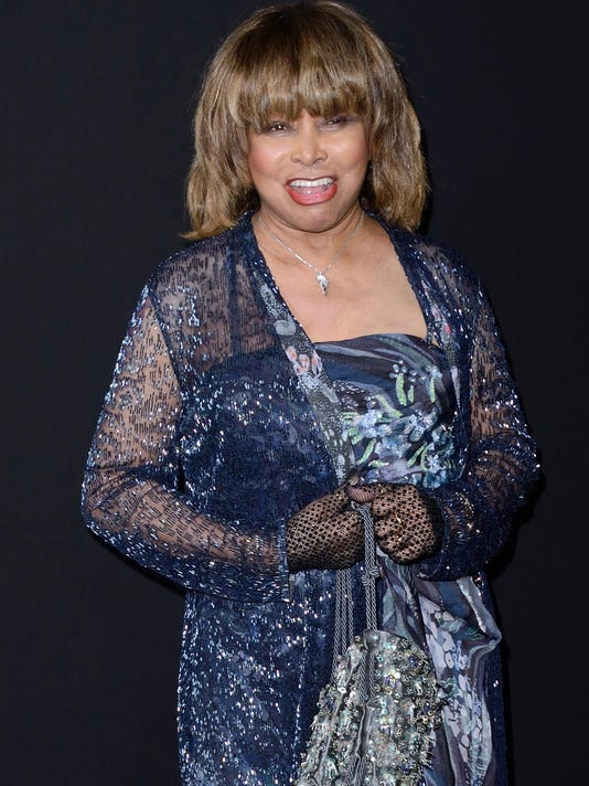 Paris Haute Couture - Tina Turner at Giorgio Armani - Frontrow