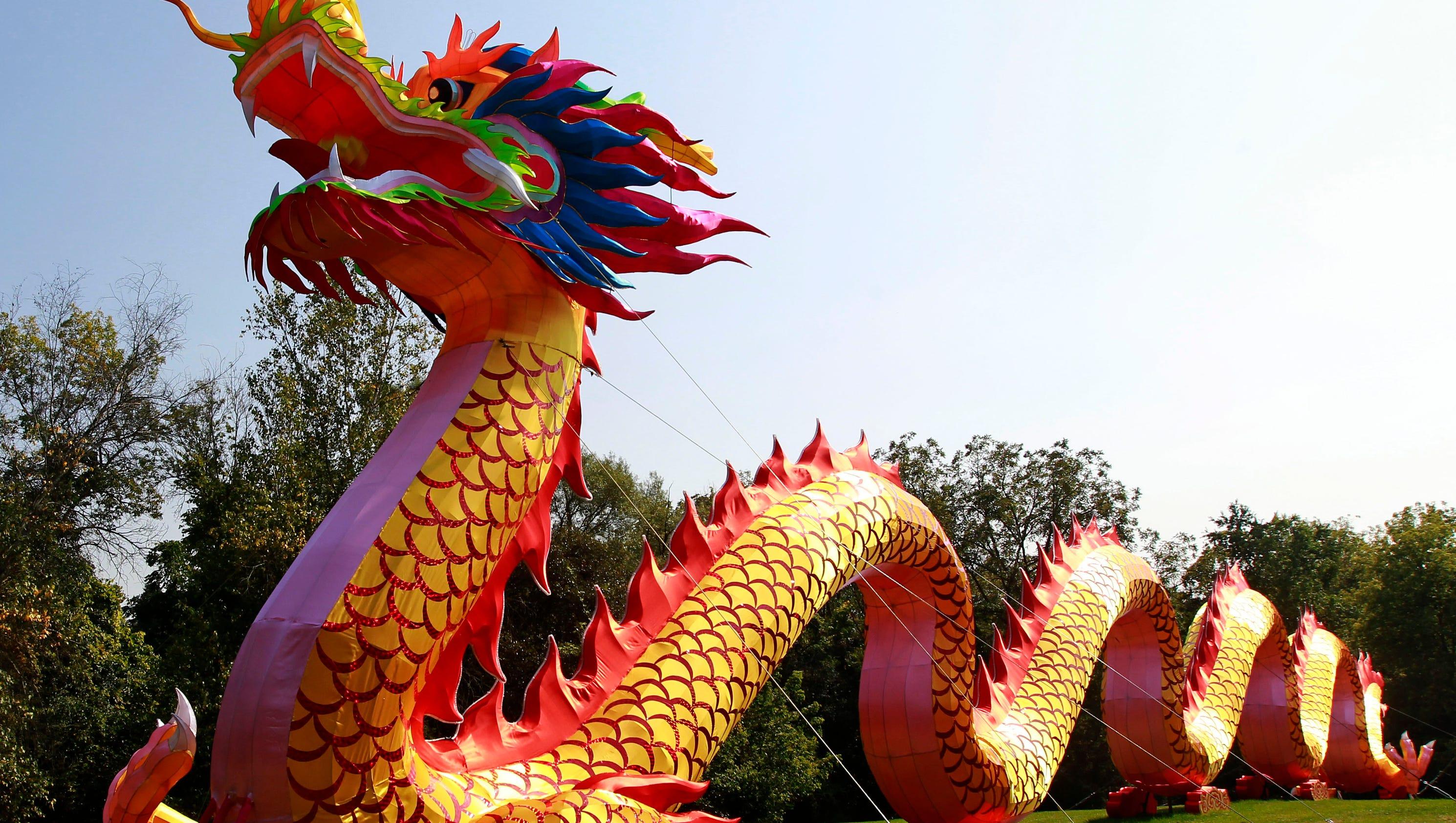 China Lights Brings Lantern Sculptures To Boerner Botanical Gardens