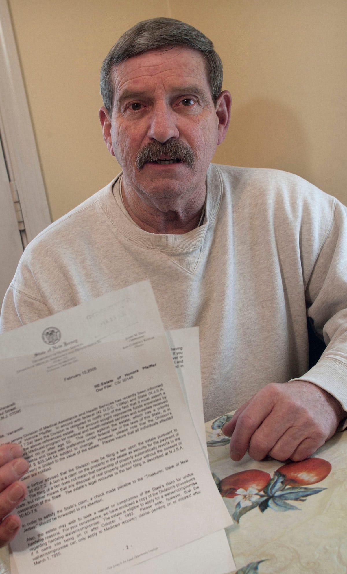 Liquidating assets before entering a nursing home
