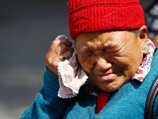 APTOPIX Nepal Everest Avalanche