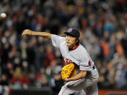 Red Sox Orioles Baseball (2)