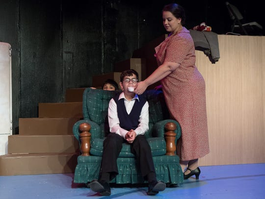 A Christmas Story The Musical put on at the Aurora