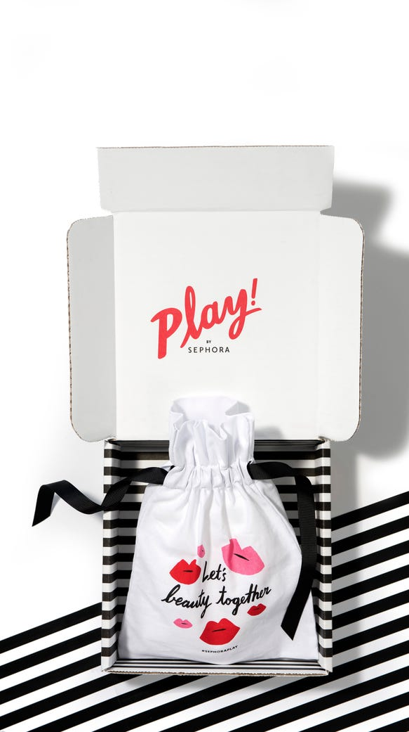 A preview of Sephora's Play! boxes.