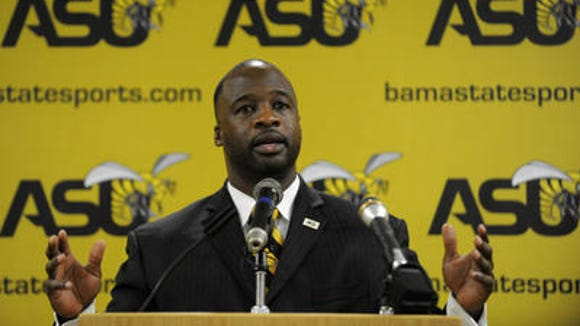 Alabama State coach Brian Jenkins and the Hornets open