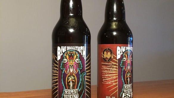 bluesnaggletooth beer