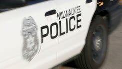 A Milwaukee police squad car.