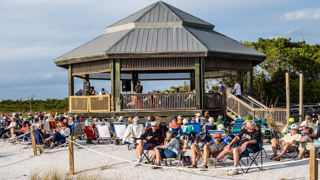 Songwriters at Sunset Series brings original music to Lovers Key once a month through April.