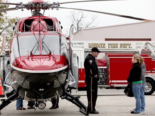 The Make a Difference Day Emergency Expo, put on by The Star Press, was offered in 2013 at the Delaware County Fairgrounds.