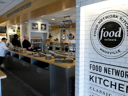Scripps Networks Interactive kitchen serves as their cafateria at their corporate headquarters in Knoxville Monday, Feb. 27, 2017. Scripps Networks recently posted a record $2.4 billion in advertising revenues for the last fiscal year.