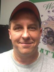 Randolph Southern head coach Tom Byrum