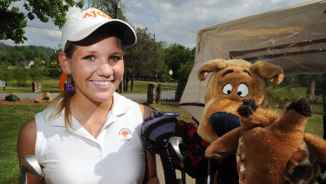 North Buncombe sophomore Callista Rice was the 2013 Citizen-Times All-WNC Girls Golfer of the Year.
