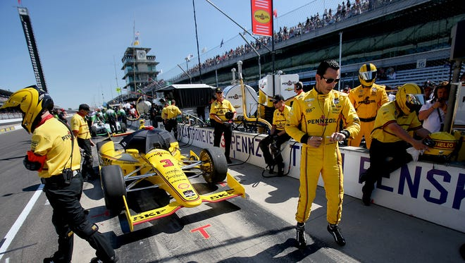 How Helio Castroneves (right) has earned his money this season