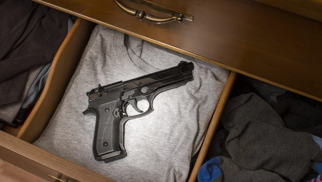 One in three homes with children has guns, and 75% of children 5-14 know where the firearms are stored, according to the Brady Campaign to Prevent Gun Violence.
