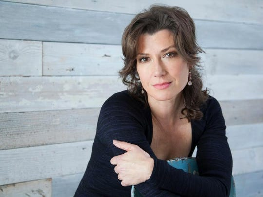 Amy Grant performs at Bon Secours Wellness Arena in February with Steven Curtis Chapman.
