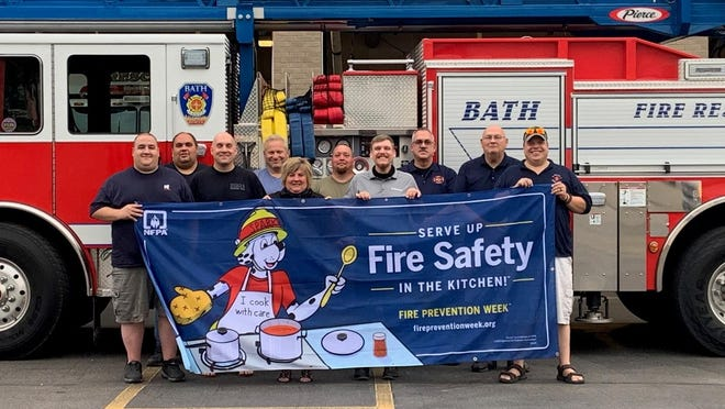 Members of the Bath Volunteer Fire Department are preparing for Nation Fire Prevention week, coming up in early October.