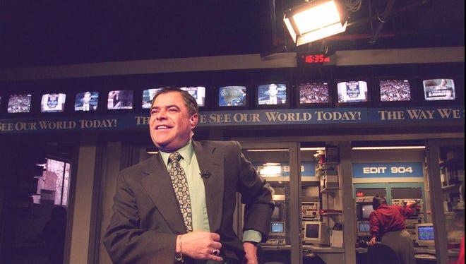 Ben Herrera at R News in 1996.