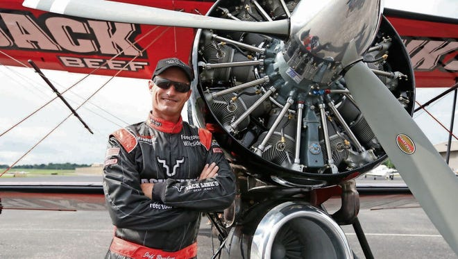 Jeff Boerboon, the pilot of the Jack Link's Screamin' Sasquatch.