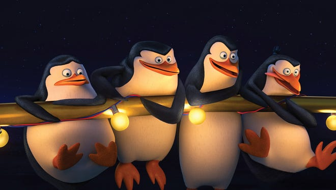 """The lineup: Private, Skipper, Kowalski and Rico are back in action in """"The Penguins of Madagascar."""""""