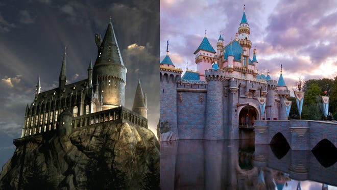 Here are things you will see at Universal Studios but not at Disneyland.