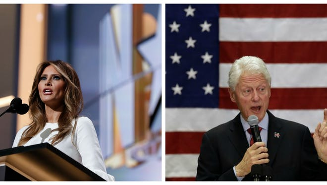 Melania Trump and Bill Clinton are apparently not interesting bakers. Who knew.