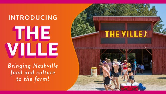 "Bonnaroo has announced ""The Ville,"" an ambitious on-site attraction that offers a dose of Nashville culture, music and food."