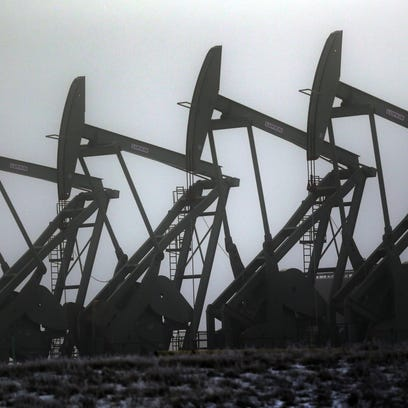 The number of oil drill rigs in North Dakota has fallen