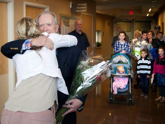 Man thanks nurse who saved his life